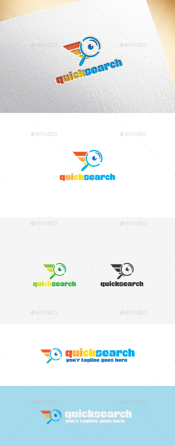 Quicksearch Logo Template