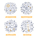 Email Marketing Doodle Illustrations - GraphicRiver Item for Sale