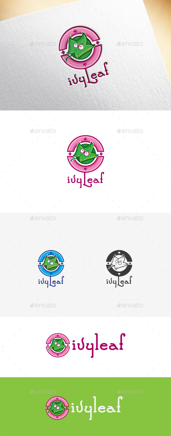 Ivyleaf Logo Template - Nature Logo Templates