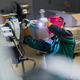 Download Industrial worker welding in metal factory. from PhotoDune