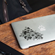 MacBook Skin Mock-Up - GraphicRiver Item for Sale