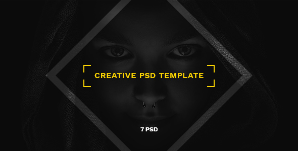 Nagual — Creative Personal/Agency Portfolio PSD Template