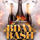 Bday Bash Flyer - GraphicRiver Item for Sale