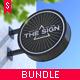 Sign Mock-up Bundle - GraphicRiver Item for Sale