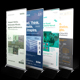 4 Conference & Seminar Event Roll-up Banners - GraphicRiver Item for Sale
