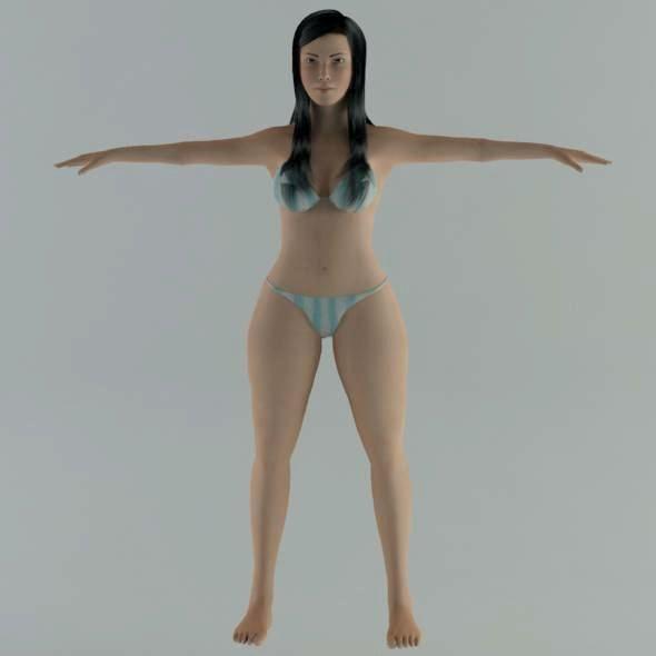 girl3 - 3DOcean Item for Sale