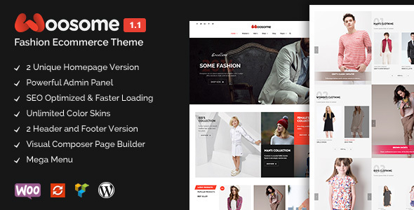 Woosome – Fashion & Lifestyle WooCommerce WordPress Theme