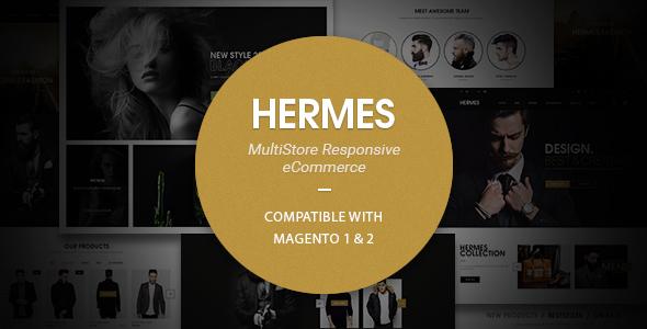 Hermes – Multi-Purpose Premium Responsive Magento 1& 2 Theme