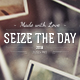 Seize the Day - Create a Romantic Movie with Your Photos - VideoHive Item for Sale