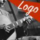 Retro Jazz Guitar Logo