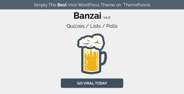Banzai – Viral & Buzz WordPress Theme