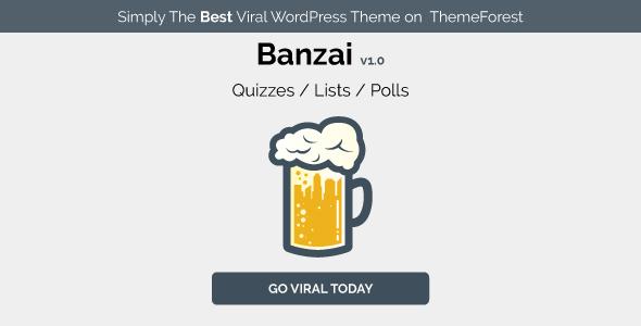 Banzai - Viral & Buzz WordPress Theme