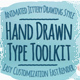 Hand Drawn Type Toolkit - VideoHive Item for Sale