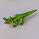 Cartoon Crocodile - 3DOcean Item for Sale