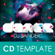 Dance CD Insert and CD Label - GraphicRiver Item for Sale