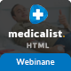 Medicalist - A Responsive HTML Template for Medical, Doctors, Dentists, Clinics and Hospitals - ThemeForest Item for Sale