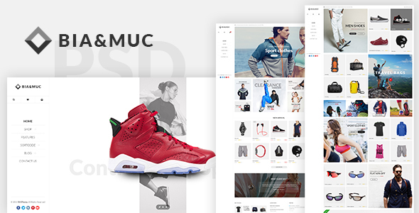 B&M – Responsive eCommerce PSD Template