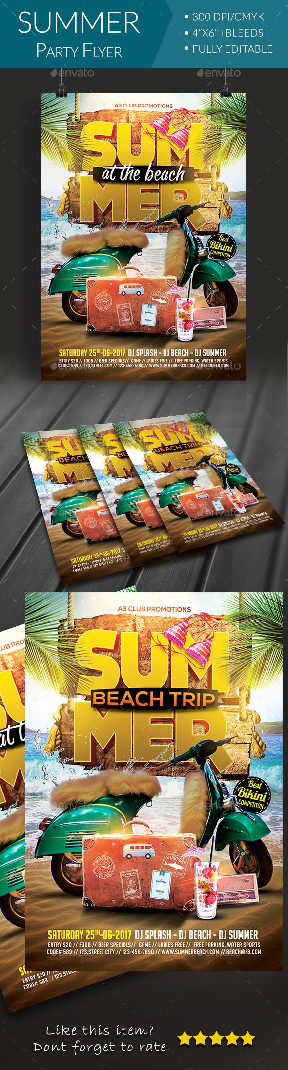 Summer Beach Party By Arrow3000