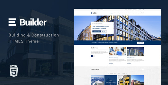 Builder – Building & Construction HTML Template