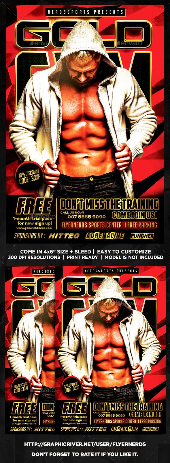 Gym Center Sports Flyer