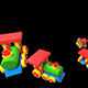 Children's Toy Trains - VideoHive Item for Sale