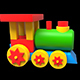 Children's Toy Locomotive - VideoHive Item for Sale
