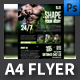 Shape Your Body A4 Flyer Template - GraphicRiver Item for Sale