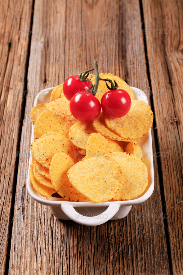 Corn chips - Stock Photo - Images