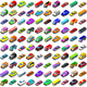 Cars Game Icons Isometric Vehicles - GraphicRiver Item for Sale