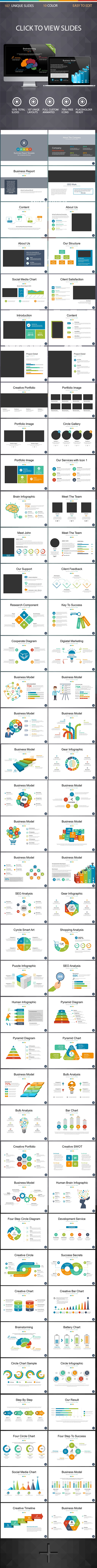 Modern Business PowerPoint Template 2 - Business PowerPoint Templates