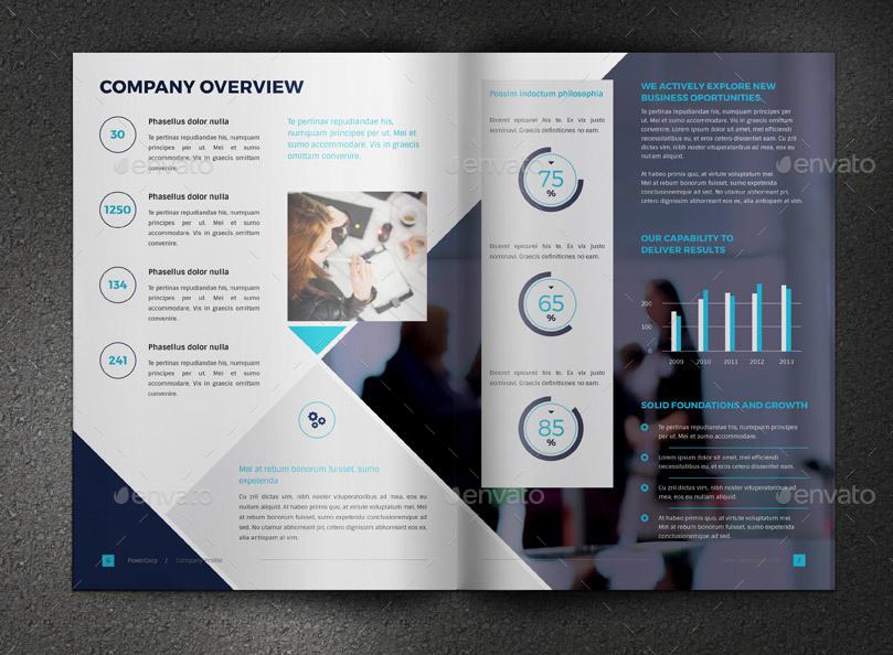 how to make company brochure