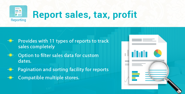 Prestashop Report sales, tax, profit Module - CodeCanyon Item for Sale