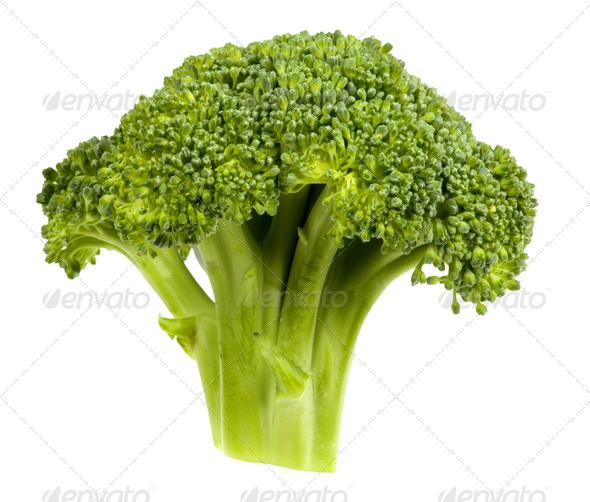 Broccoli head - Stock Photo - Images