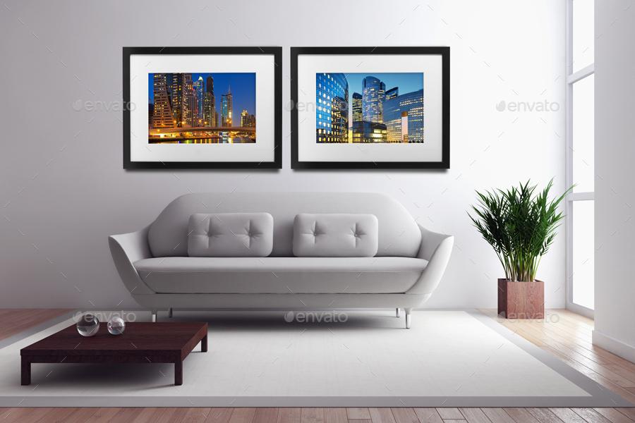 Room Frame Mockup By Nirmaldesign