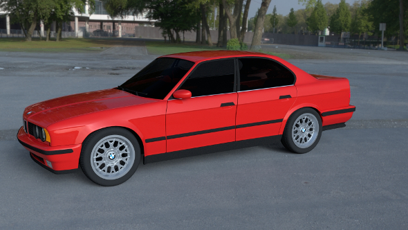 BMW 5 Series E34 HDRI - 3DOcean Item for Sale