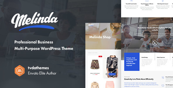 Melinda – Professional Business Multi-Purpose WordPress Theme