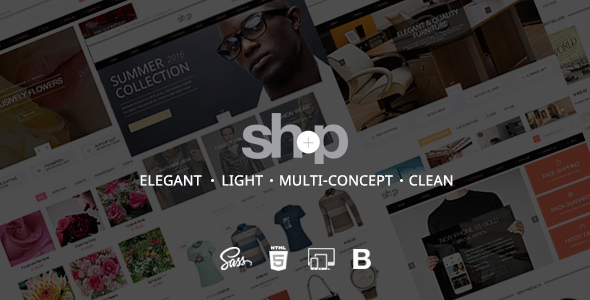 Shop | Ecommerce HTML Shop