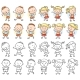 Set of Boy and Girl Characters - GraphicRiver Item for Sale