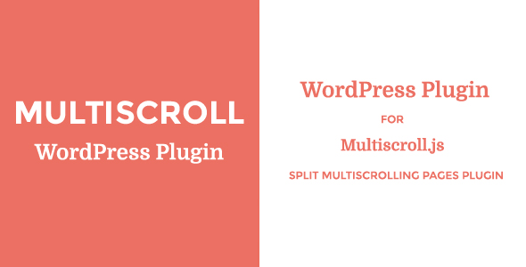 Multiscroll - WordPress Plugin - CodeCanyon Item for Sale