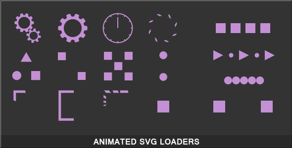 Animated SVG Loaders - CodeCanyon Item for Sale