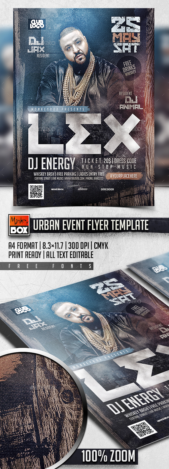 Urban Event Flyer Template