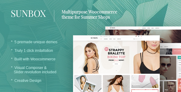 Sunbox Summershop Multipurpose WooCommerce WordPress Theme