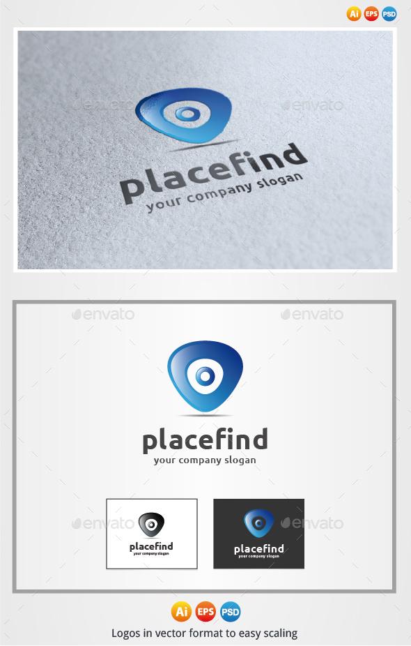 Place Find - Symbols Logo Templates