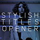 Overlay Titles Opener - VideoHive Item for Sale