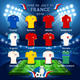 Qualified Teams Euro 2016 - GraphicRiver Item for Sale
