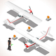 Ultralight Isometric Airplane - GraphicRiver Item for Sale