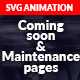 Animated Coming Soon & Maintenance Pages  - CodeCanyon Item for Sale