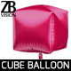 Cube Balloon - 3DOcean Item for Sale
