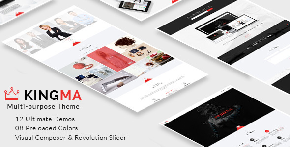KingMa | Creative Business Onepage & MultiPage Theme