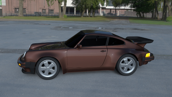 Porsche 911 930 HDRI - 3DOcean Item for Sale